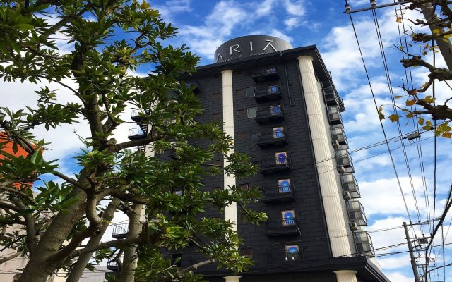 Hotel Aria Тиба вид на фасад