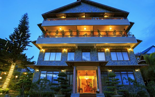 Отель Zen Valley Dalat Далат вид на фасад