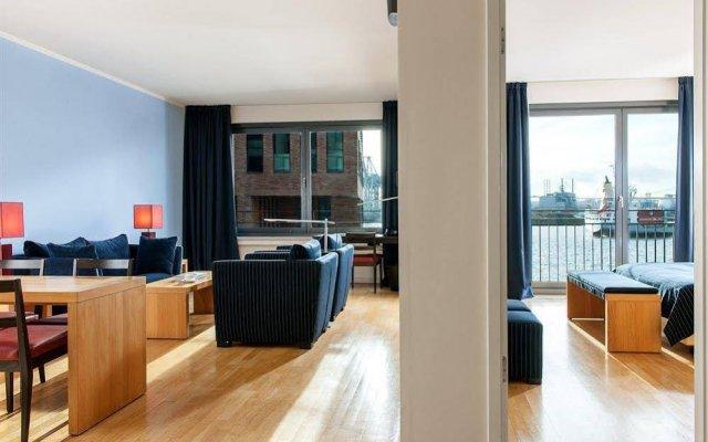Отель Clipper Elb-Lodge Apartments Hamburg Германия, Гамбург - отзывы, цены и фото номеров - забронировать отель Clipper Elb-Lodge Apartments Hamburg онлайн комната для гостей