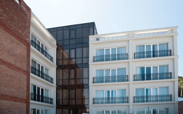 Бутик-отель The Terrace Тбилиси вид на фасад