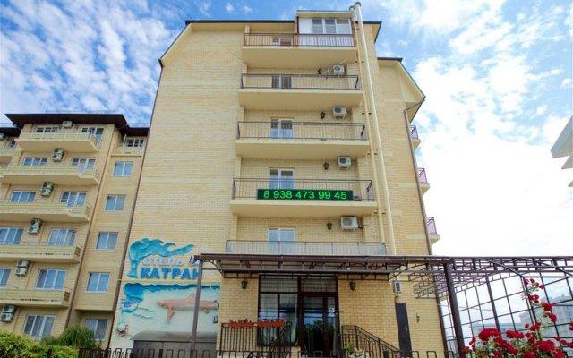 Гостиница Катран в Анапе отзывы, цены и фото номеров - забронировать гостиницу Катран онлайн Анапа вид на фасад