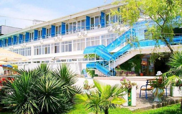 Гостиница Edem Health Resort вид на фасад