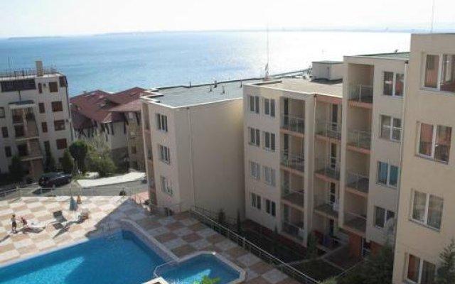 Апартаменты Vista Residence Apartments Свети Влас вид на фасад