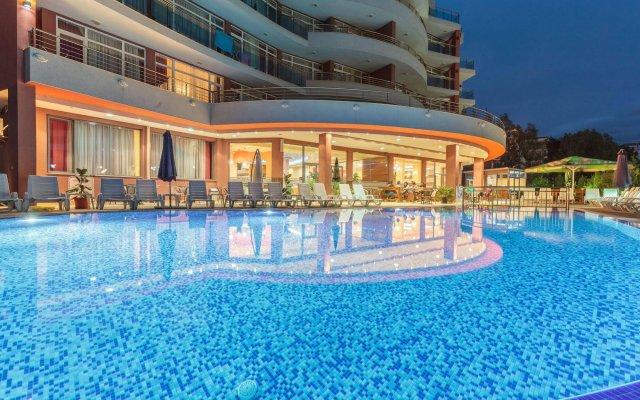 Отель Riagor Hotel - All Inclusive Болгария, Солнечный берег - отзывы, цены и фото номеров - забронировать отель Riagor Hotel - All Inclusive онлайн вид на фасад