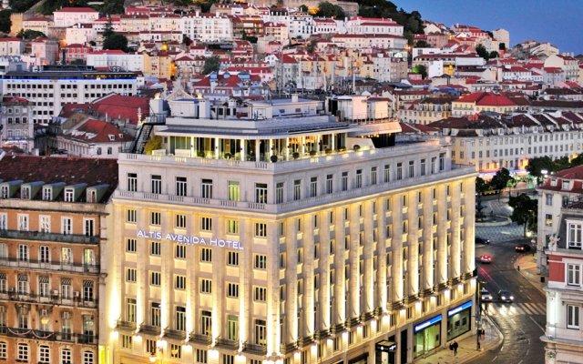 Altis Avenida Hotel вид на фасад