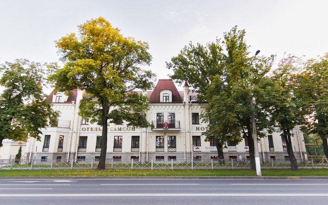 Гостиница Самсон вид на фасад