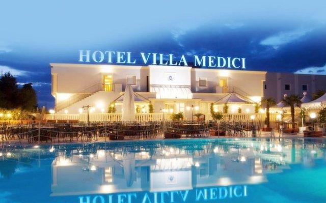 Hotel Villa Medici Рокка-Сан-Джованни вид на фасад