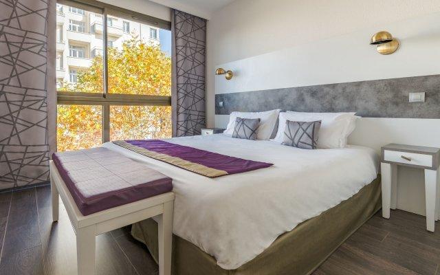 Отель Lagrange Apart'HOTEL Lyon Lumière Франция, Лион - отзывы, цены и фото номеров - забронировать отель Lagrange Apart'HOTEL Lyon Lumière онлайн комната для гостей