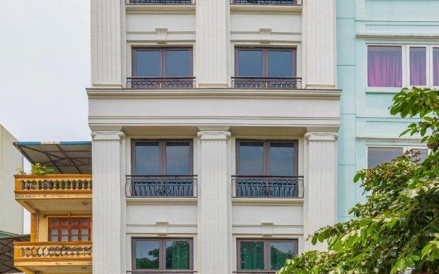 Апартаменты Granda Quan Hoa Apartment вид на фасад