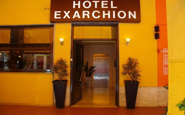 Hotel Exarchion вид на фасад