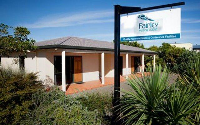 Отель Fairley Motor Lodge Новая Зеландия, Нейпир - отзывы, цены и фото номеров - забронировать отель Fairley Motor Lodge онлайн вид на фасад