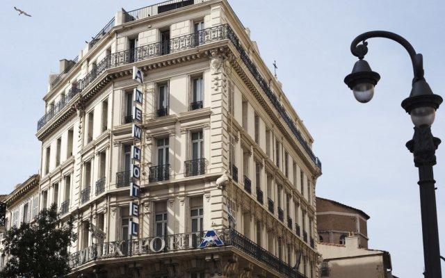 Отель Newhotel Vieux-Port вид на фасад