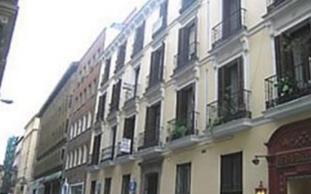 Отель Hostal Armesto вид на фасад