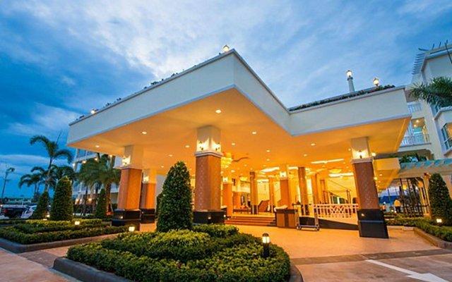 Отель Krabi Front Bay Resort вид на фасад