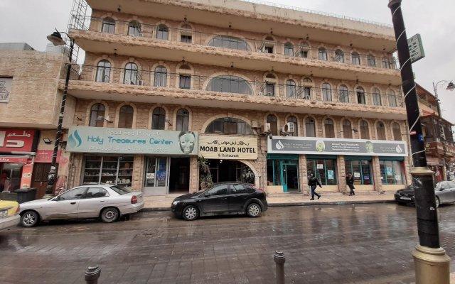 Отель Moab Land Hotel Иордания, Мадаба - отзывы, цены и фото номеров - забронировать отель Moab Land Hotel онлайн вид на фасад