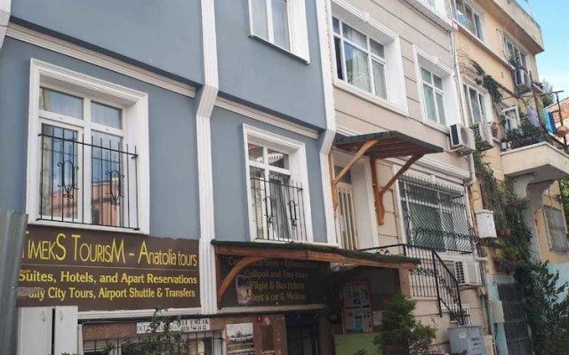 Отель Timeks Apart вид на фасад