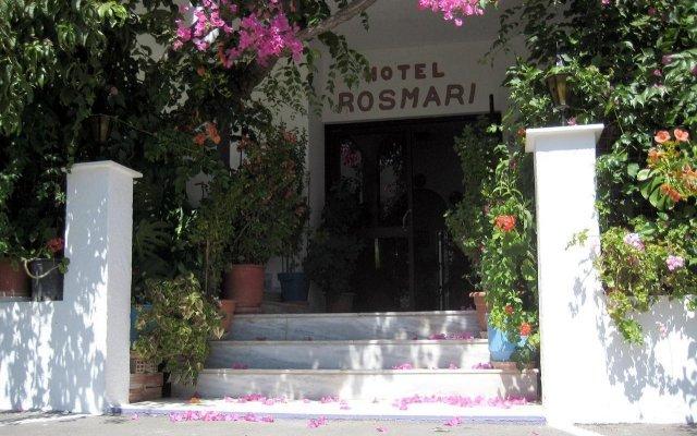 Отель ROSMARI Парадиси вид на фасад