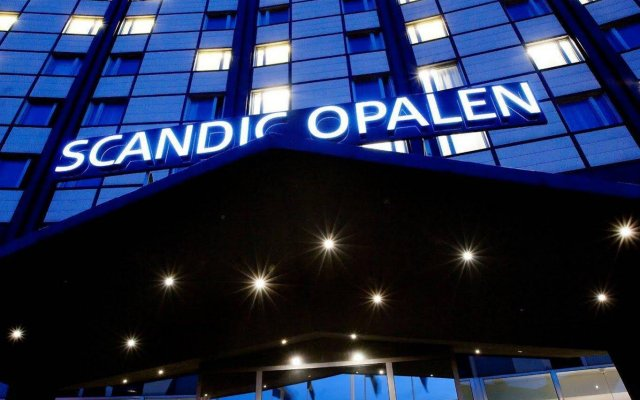 Отель Scandic Opalen вид на фасад