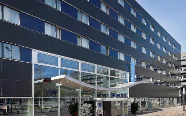 Отель Novotel Zurich City-West Швейцария, Цюрих - 9 отзывов об отеле, цены и фото номеров - забронировать отель Novotel Zurich City-West онлайн вид на фасад
