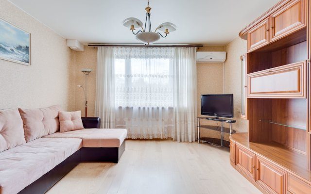 Апартаменты Apartment near park Kolomenskoe комната для гостей