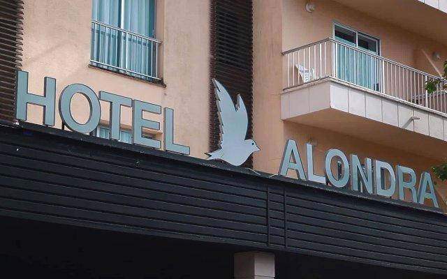 Hotel Alondra Mallorca вид на фасад