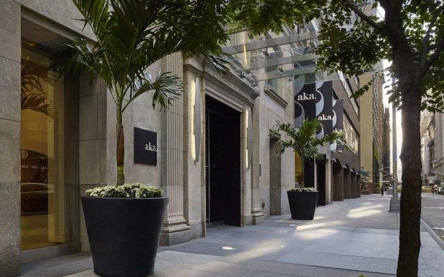 Отель AKA Central Park США, Нью-Йорк - отзывы, цены и фото номеров - забронировать отель AKA Central Park онлайн вид на фасад