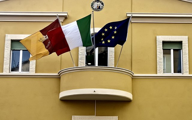 Roma Scout Center - Hostel Рим вид на фасад