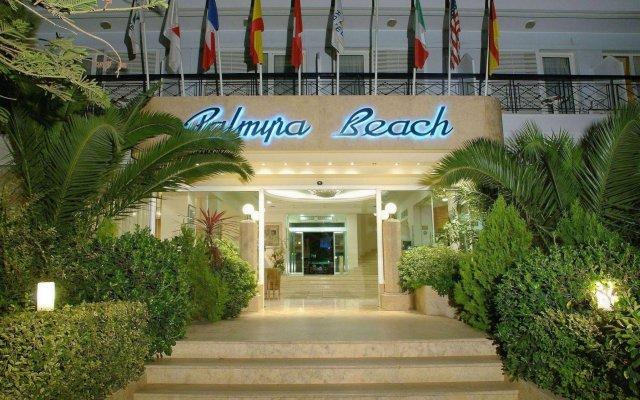 Palmyra Beach Hotel вид на фасад