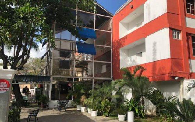 Отель Bocachica Beach Hotel Доминикана, Бока Чика - отзывы, цены и фото номеров - забронировать отель Bocachica Beach Hotel онлайн вид на фасад