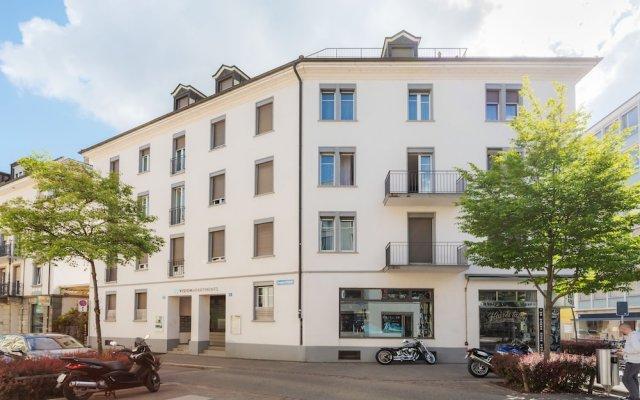 Отель VISIONAPARTMENTS Zurich Cramerstrasse вид на фасад