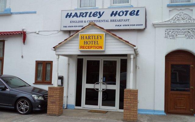 Hartley Hotel вид на фасад