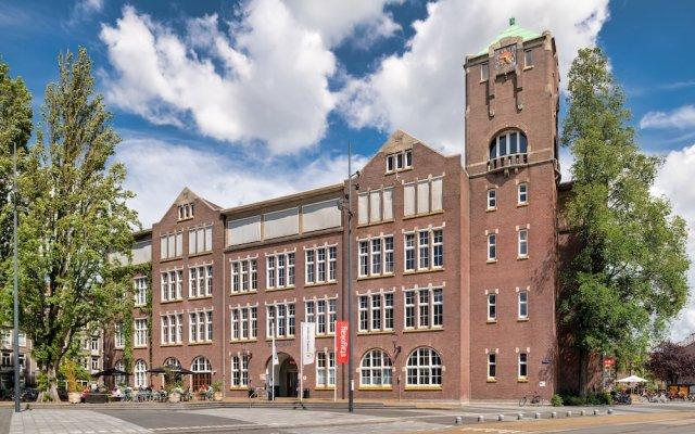 Отель Stayokay Amsterdam Oost Нидерланды, Амстердам - 1 отзыв об отеле, цены и фото номеров - забронировать отель Stayokay Amsterdam Oost онлайн вид на фасад
