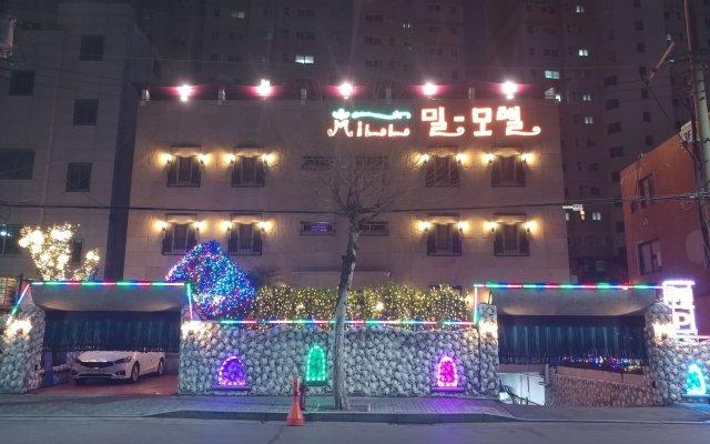 Отель Mill Motel Южная Корея, Сеул - отзывы, цены и фото номеров - забронировать отель Mill Motel онлайн вид на фасад
