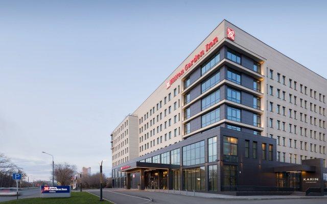Гостиница Хилтон Гарден Инн Оренбург в Оренбурге 6 отзывов об отеле, цены и фото номеров - забронировать гостиницу Хилтон Гарден Инн Оренбург онлайн вид на фасад