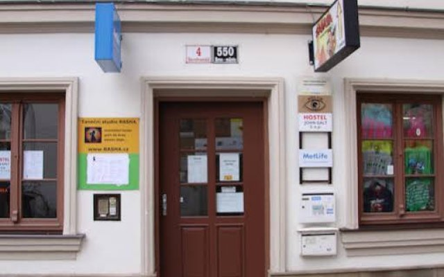 John Galt Hostel Brno Брно вид на фасад