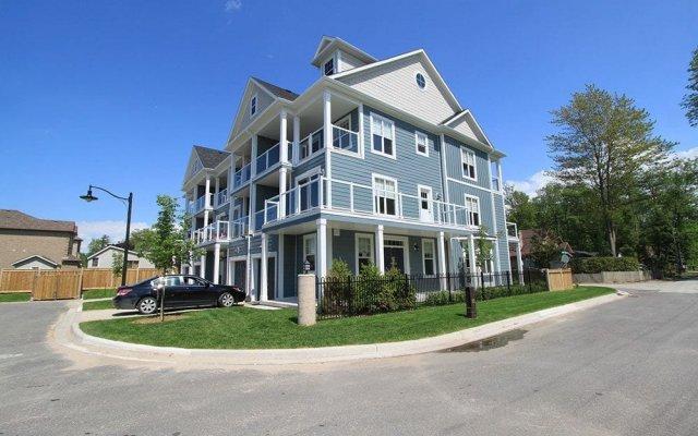 Отель Beachfront Beach Houses Канада, Васага-Бич - отзывы, цены и фото номеров - забронировать отель Beachfront Beach Houses онлайн вид на фасад