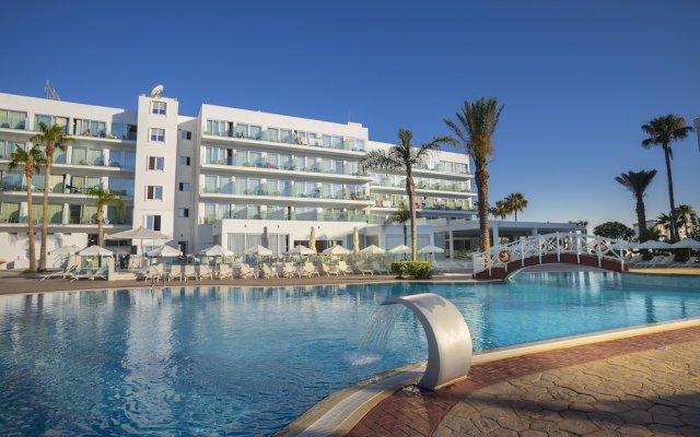 Tsokkos Beach Hotel Протарас вид на фасад