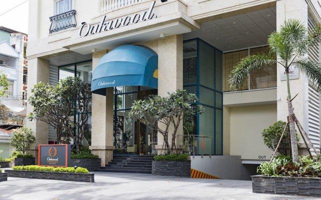 Апартаменты Oakwood Apartments Ho Chi Minh City вид на фасад