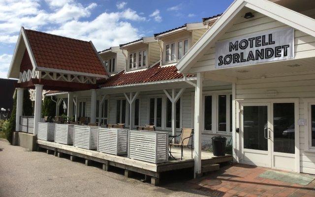 Отель Motell Sørlandet Норвегия, Лилльсанд - отзывы, цены и фото номеров - забронировать отель Motell Sørlandet онлайн вид на фасад