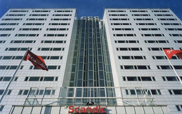 Отель Scandic Ariadne Стокгольм вид на фасад