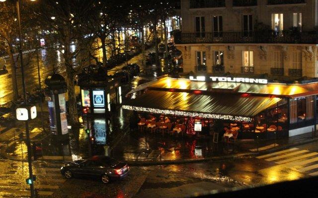 Отель Paris Champs Elysées Франция, Париж - отзывы, цены и фото номеров - забронировать отель Paris Champs Elysées онлайн вид на фасад