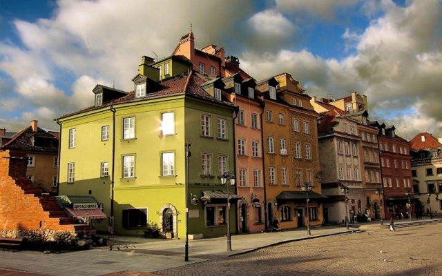 Отель Castle Square Apartment Польша, Варшава - отзывы, цены и фото номеров - забронировать отель Castle Square Apartment онлайн вид на фасад