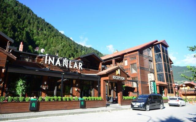 Отель Inan Kardesler Bungalow Motel вид на фасад