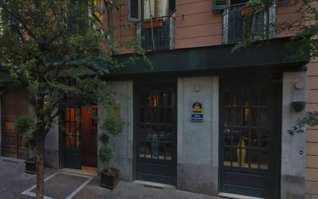 Best Western Hotel Piemontese вид на фасад