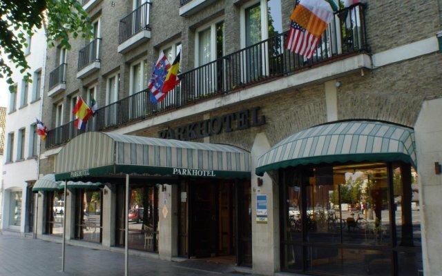 Отель Parkhotel Brugge вид на фасад