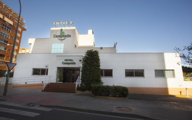 Отель Campanile Alicante вид на фасад
