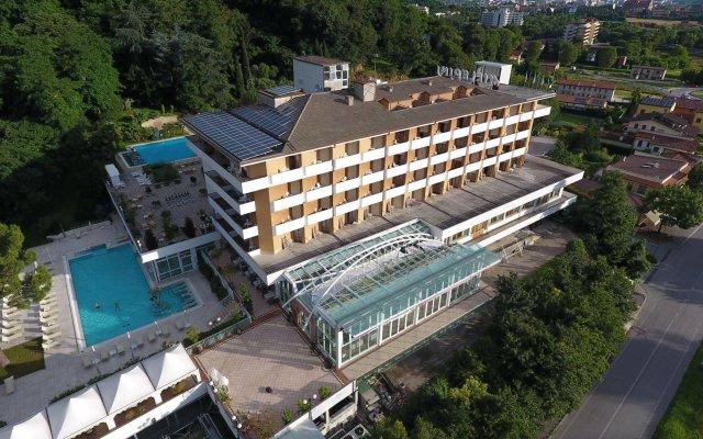Отель Terme Millepini Италия, Монтегротто-Терме - отзывы, цены и фото номеров - забронировать отель Terme Millepini онлайн вид на фасад