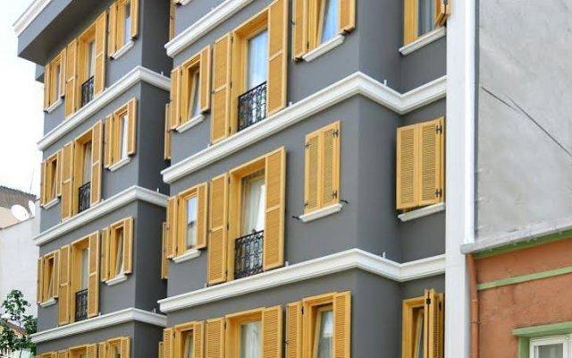 Апартаменты Cozy Flats Defne Apartment Стамбул вид на фасад
