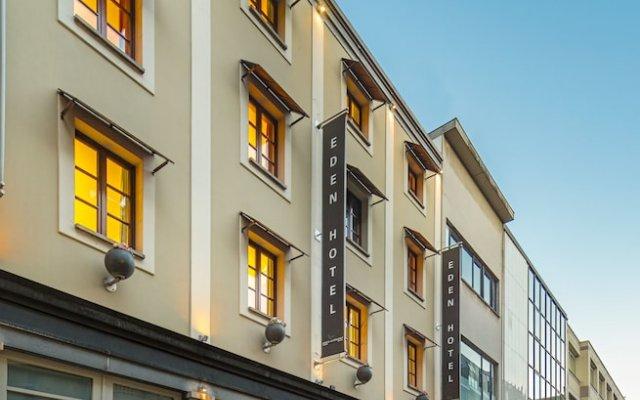 Отель Eden Antwerp By Sheetz Hotels Антверпен вид на фасад