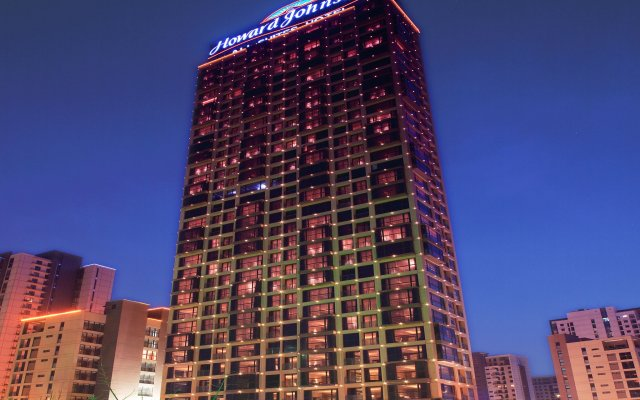 Howard Johnson All Suites Hotel вид на фасад